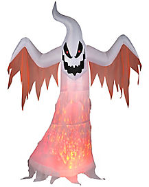7 Ft Light Up Ghost Inflatable - Decorations