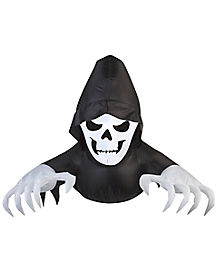 2.3 Ft Light Up Creeper Reaper Inflatable - Decorations