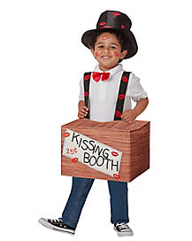 Kids Kissing Booth Costume