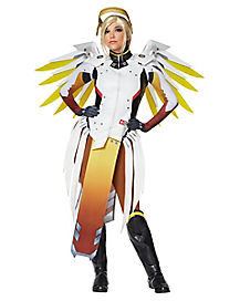 Adult Mercy Costume Deluxe The Signature Collection - Overwatch