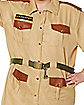 Adult Men's Zookeeper Plus Size Costume