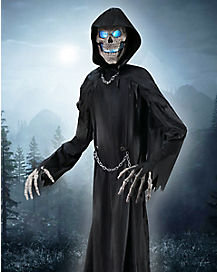 10 Ft Towering Reaper Animatronics - Decorations