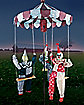 6 Ft Clown Go-Around Animatronics - Decorations