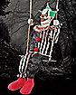 5.1 Ft Swinging Clown Animatronics - Decorations