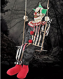 5.1 Ft Swinging Clown Animatronics - Decorations