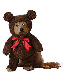 brown teddy bear pet costume