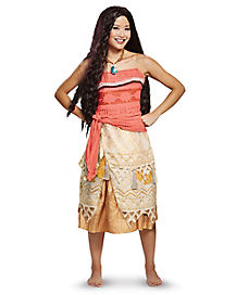 Adult Moana Costume Deluxe - Disney