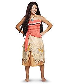 Adult Moana Costume Deluxe - Disney