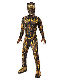 Kids Erik Killmonger Costume Deluxe - Black Panther