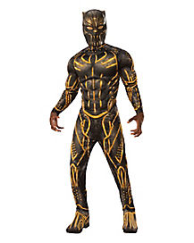 Adult Erik Killmonger Costume Deluxe - Black Panther