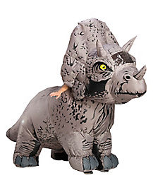 Adult Triceratops Inflatable Costume - Jurassic World 2