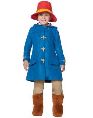 60s 70s Kids Costumes & Clothing Girls & Boys Toddler Paddington Bear Costume - Deluxe by Spirit Halloween $49.99 AT vintagedancer.com