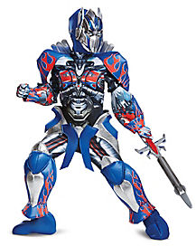 Kids Optimus Prime Costume Theatrical - Transformers