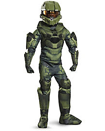 kids master chief costume theatrical halo