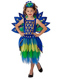 Kids Peacock Costume - The Signature Collection
