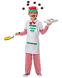 Kids Pizza Guy Costume - The Signature Collection