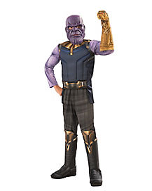 Kids Thanos Costume Deluxe - Avengers: Infinity War