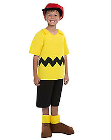 Kids Charlie Brown Deluxe Costume - Peanuts