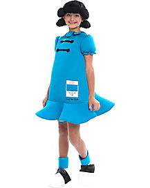 Kids Lucy Deluxe Costume - Peanuts