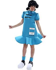 Adult Lucy van Pelt Deluxe Costume - Peanuts
