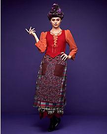Adult Mary Sanderson Costume Deluxe - Hocus Pocus