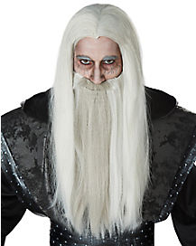 Dark Wizard Wig and Beard