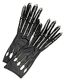Black Panther Gloves Deluxe - Marvel