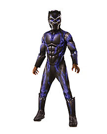 Kids Battle Black Panther Costume Deluxe - Marvel