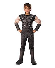 Kids Thor Costume Deluxe - Avengers Infinity War