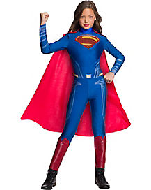 Kids Superman Jumpsuit Costume - Justice League