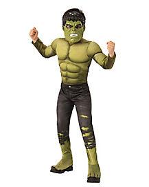 Kids Hulk Costume Deluxe - Avengers: Infinity War