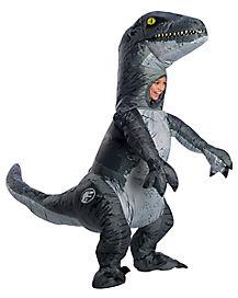 Kids Velociraptor Inflatable Costume - Jurassic World: Fallen Kingdom