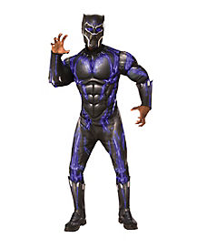 adult black panther costume deluxe marvel