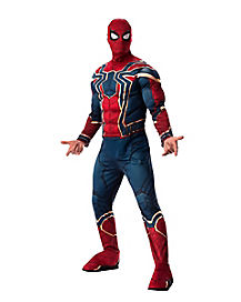 Adult Iron Spider Costume Deluxe - Avengers Infinity War  sc 1 st  Spirit Halloween : spider man adult costume  - Germanpascual.Com