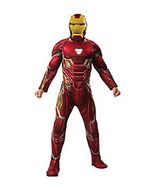 Adult Iron Man Costume Deluxe - Avengers: Infinity War