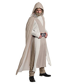 Adult Luke Skywalker Costume Deluxe - Star Wars: The Last Jedi