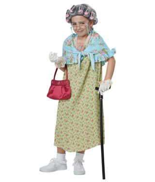 100 Days of School Dress-Up Old Lady