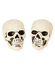 Fire Log Skull Set - 2 Pack