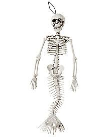15 Inch Mermaid Skeleton - Decorations