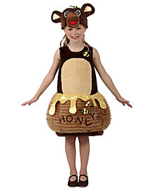 Kids Honey Bear Candy Catcher Costume - The Signature Collection