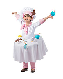 Kids Messy Baker Table Top Costume - The Signature Collection