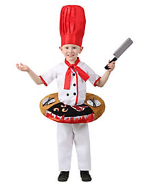 Kids Hibachi Chef Table Top Costume - The Signature Collection