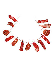 8 Ft Hanging Flesh Line - Decorations