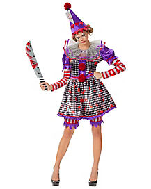Adult Killer Clown Costume - The Signature Collection