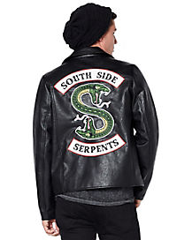 Faux Leather Southside Serpents Jacket – Riverdale