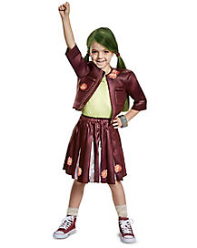 Kids Classic Zoey Cheer Costume - Disney Zombies