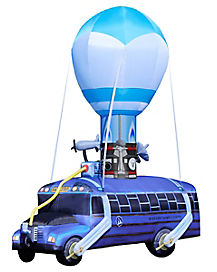 17.5 Ft Battle Bus Inflatable - Fortnite