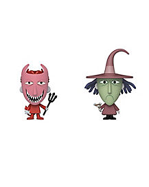Lock and Shock Vynl. Funko Figures 2 Pack - The Nightmare Before Christmas