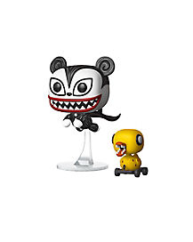 Vampire Teddy and Undead Duck Pop Figures 2 Pack - The Nightmare Before Christmas