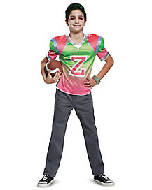 Kids Classic Zed Jersey Costume - Disney Zombies